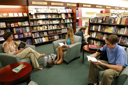 Are bookstores more about experience than product now ...